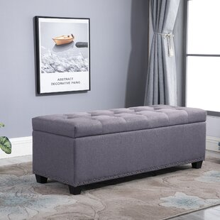 Sibley Tufted Storage Ottoman