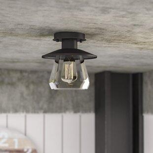 Birmingham La Grange 1-Light Semi Flush Mount by Trent Austin Design
