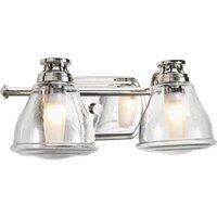 Brenneman 2-Light Vanity Light by Wrought Studio