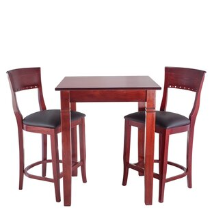 Tymon 3 Piece Pub Table Set DarHome Co