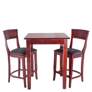 Tymon 3 Piece Pub Table Set DarHome Co