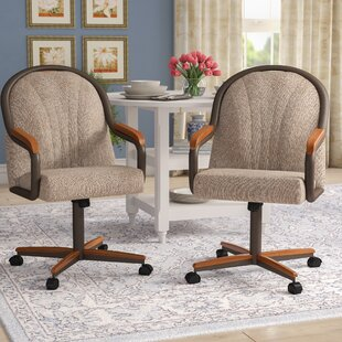 Moore Upholstered Dining Chair by Red Barrel Studio Great Reviews