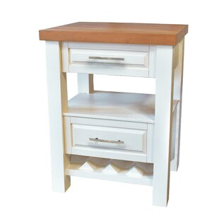 Lygia Kitchen Island Gracie Oaks