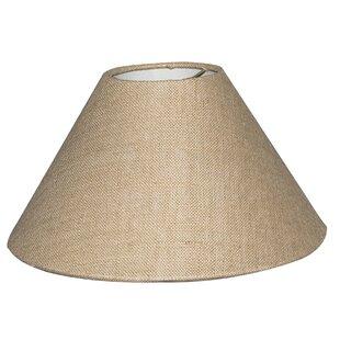 16 Burlap Empire Lamp Shade
