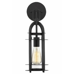 Check Prices Jamya LED Outdoor Sconce By Breakwater Bay