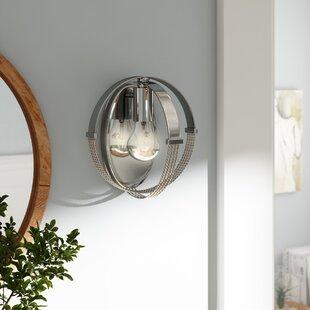 Branscome 1-Light Flush Mount by Brayden Studio