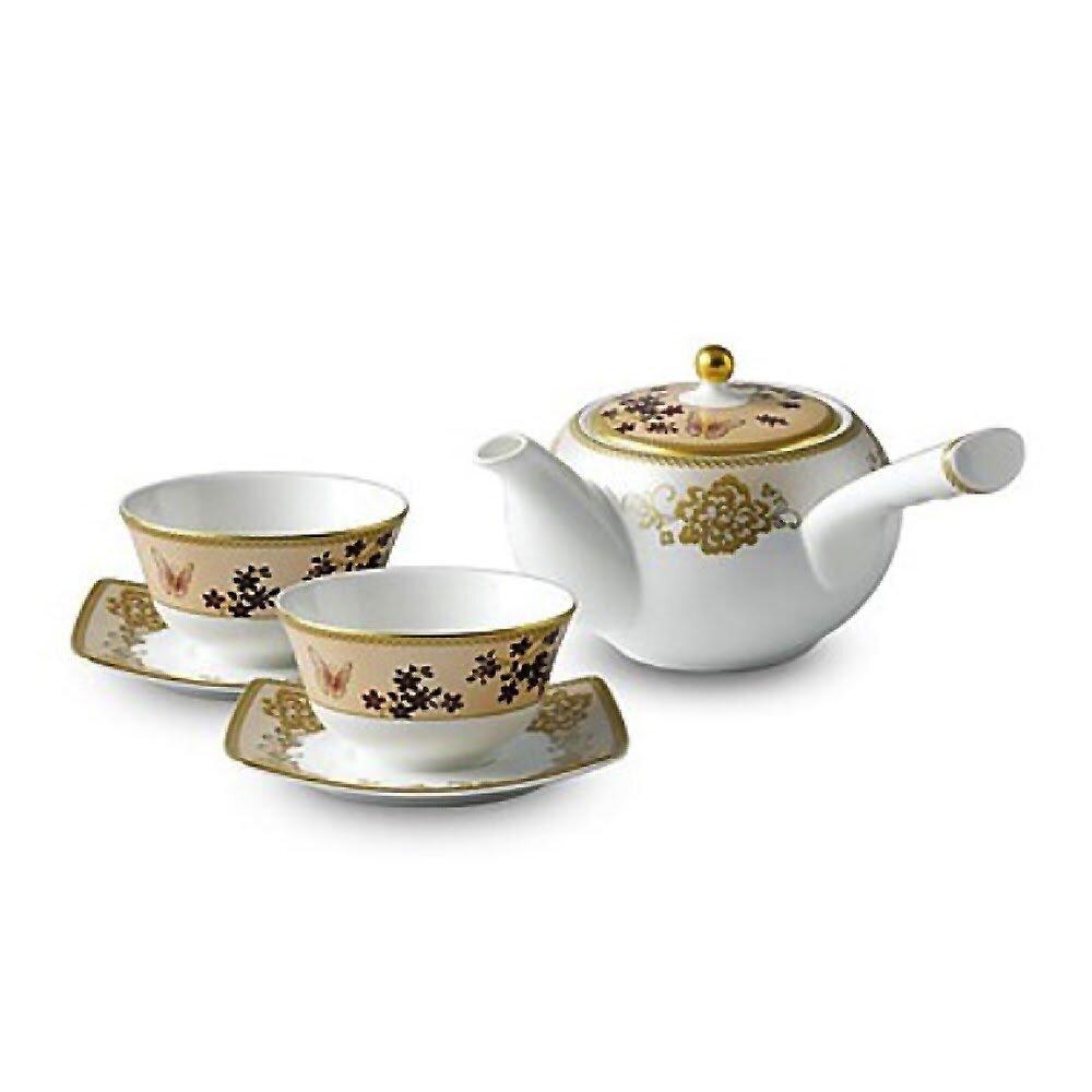 Rosdorf Park Zilla 6 Piece Bone China Teacup Saucer Set Wayfair