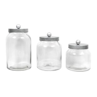 3 Piece Kitchen Canister Set by Gracie Oaks Cool