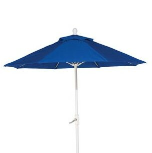 Woodard Fiberglass Market Umbrella