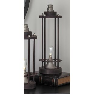Cole & Grey Metal LED Candle Lantern