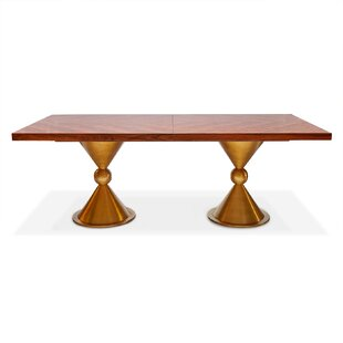 Caracas Dining Table - Rosewood by Jonathan Adler