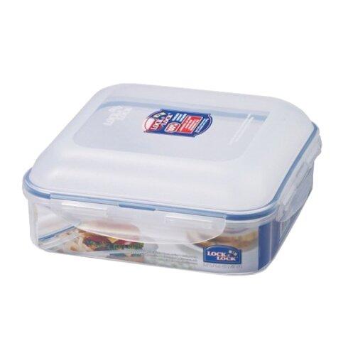 Lock Lock Square Hamburger Case 57 Oz Food Storage Container