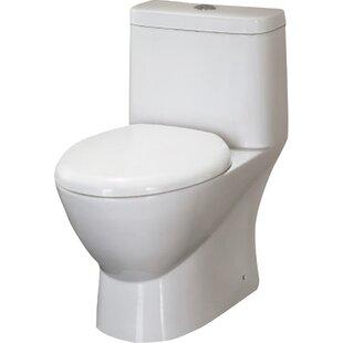 Platinum Adriana Dual Flush Elongated One Piece Toilet