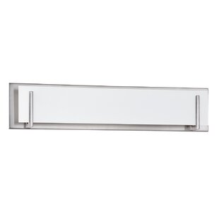 Wade Logan Chesney 5-Light Glass Shade Bath Bar