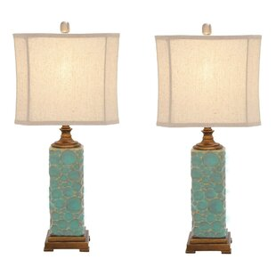 Urban Designs Carmel Seafoam 30 Table Lamp (Set of 2)