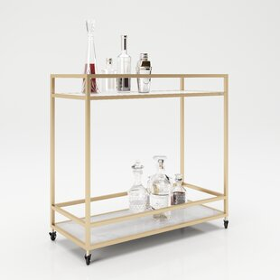 Ginger Serving Cart By PLAYBOY