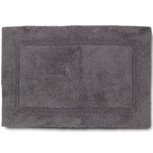Dark Brown Anti-Slip 100/% Cotton Tufted Luxury Soft Bath Contour Mat 22*22 In