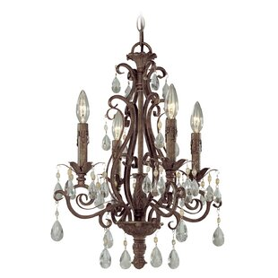 Bargain Lilliane 4-Light Candle Style Chandelier By Astoria Grand