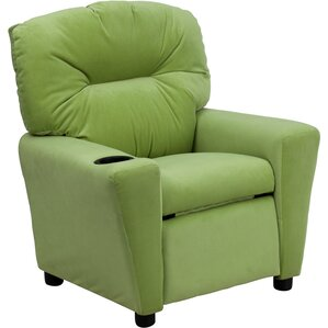 Virgil Kids Recliner with Cup Holder by Latitude Run