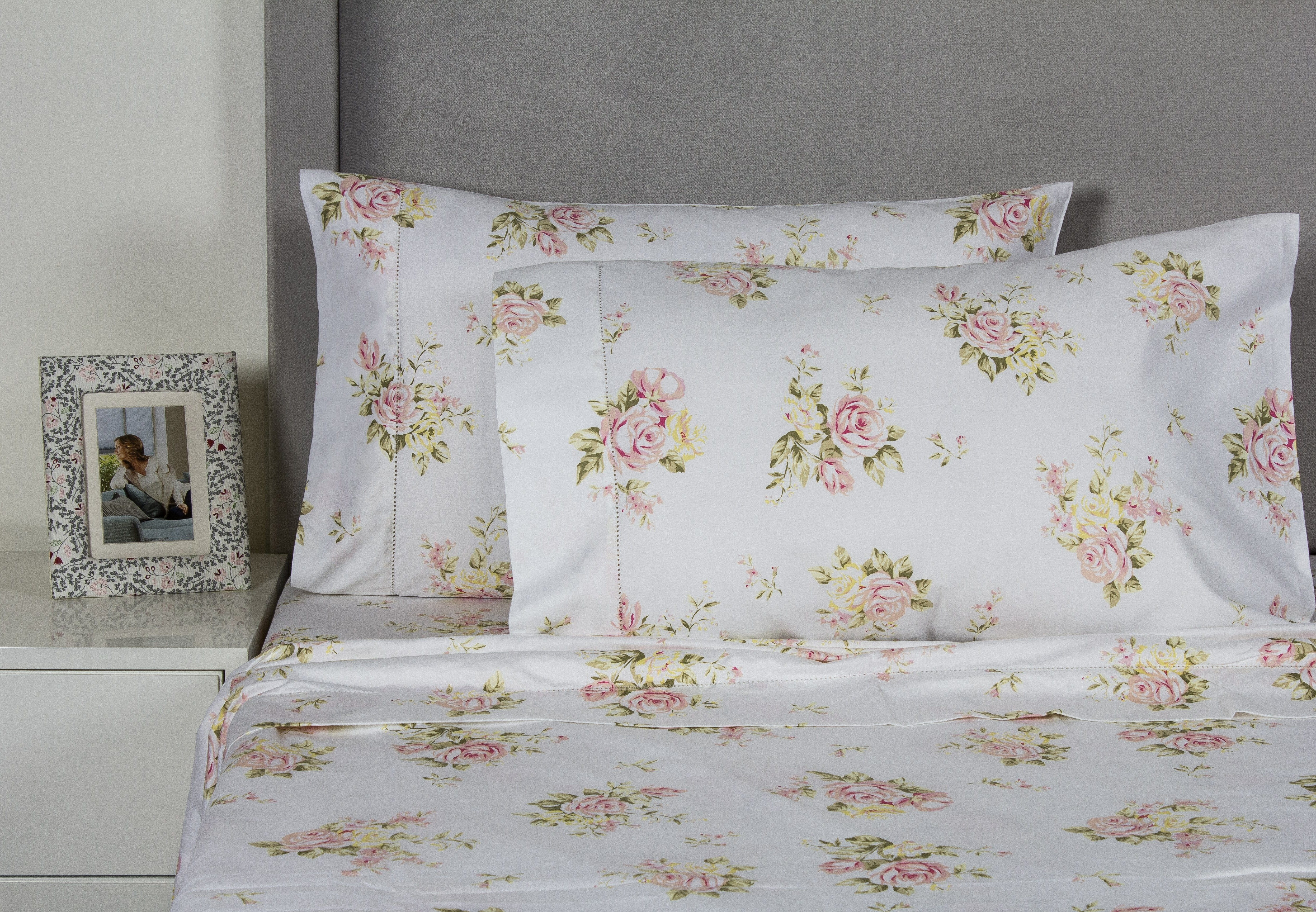 Rose Bouquet 400 Thread Count Cotton