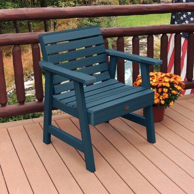 Lietz Garden Patio Chair Darby Home Co Color: Nantucket Blue