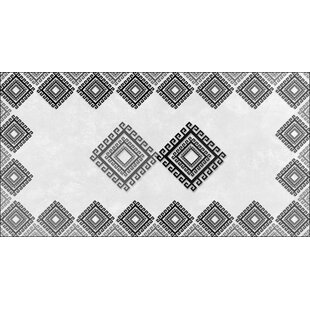 Longworth Black/Gray Indoor/Outdoor Area Rug