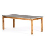 Schuler Solid Wood Dining Table by Gracie Oaks