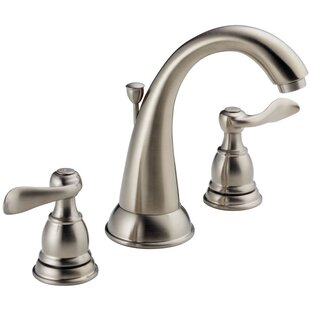 Windemere Widespread Bathroom Faucet with Drain Assembly By Delta