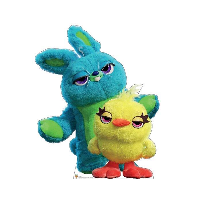 Ducky And Bunny Disney Pixar Toy Story 4 Cardboard Standup