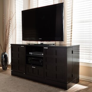Inexpensive Baxton Studio Tosato TV Stand for TVs up to 55 by Wholesale Interiors Reviews (2019) & Buyer's Guide
