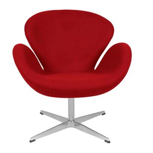 Brundage Swivel Wingback Chair