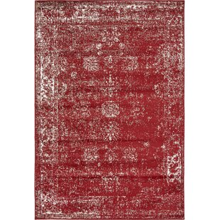 Reviews Brandt Burgundy Area Rug By Mistana