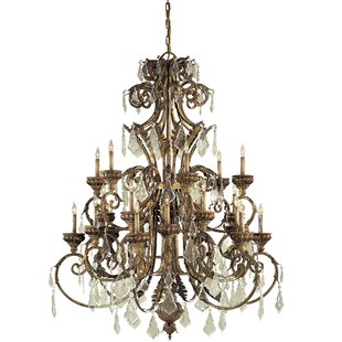 Metropolitan by Minka 24-Light Candle Style Chandelier