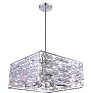 CWI Lighting Petia 8-Light Square/Rectangle Chandelier