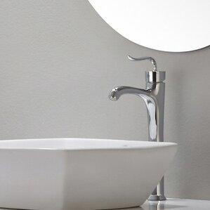 coda single hole single handle bathroom faucet