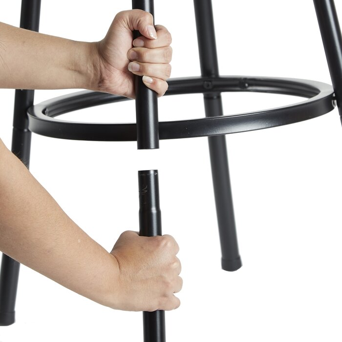 Terrific Spokane Adjustable Height Swivel Bar Stool Caraccident5 Cool Chair Designs And Ideas Caraccident5Info