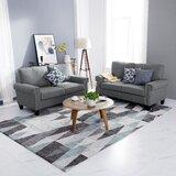 Niehaus 2 Piece Living Room Set by Charlton Home®