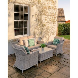 Ridgemoor 4 Seater Rattan Sofa Set Image