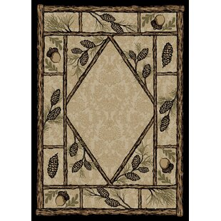 Find for American Destinations Beige/Black Area Rug ByMayberry Rug