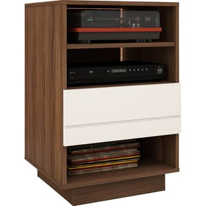 Vicknair Wood Audio Cabinet by..