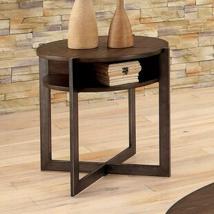 Ballinderry End Table by Gracie Oaks