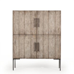 Thomas Bina Shelley 4 Door Accent Cabinet by Resource Decor