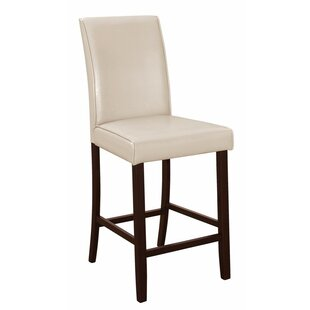 Charlton Home Redington Counter Height Upholstered Dining Chair (Set of 2)