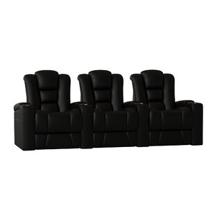 Solid Wood Home Theatre Lounger (Row of 3)