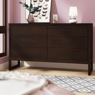 Lambertville 6 Drawer Double Dresser