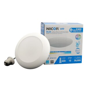 NICOR Lighting LED Recessed Trim