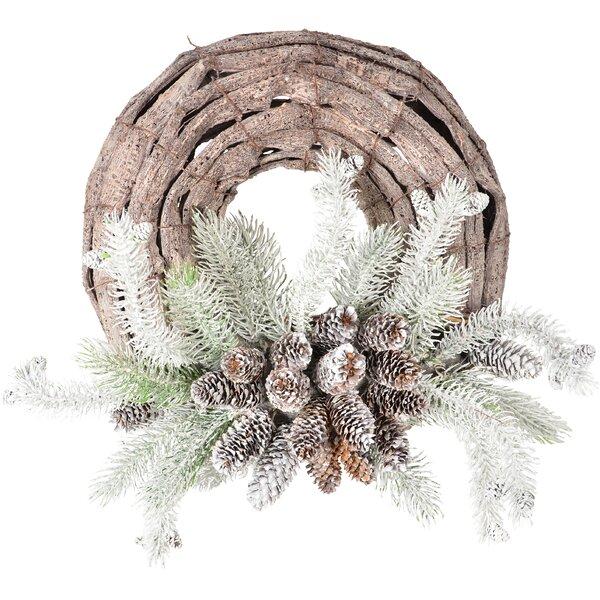 Best Elegant Beautiful Flocked Front Door Evergreen Wreath Military Christmas Wreath Patriotic Wreath
