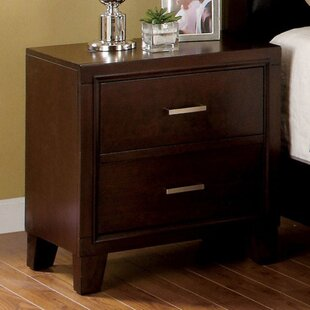 Darby Home Co Leeanna 2 Drawer Nightstand