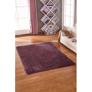 Shop for Lurex Tone Purple Hand Tufted Area Rug By Rug Factory Plus