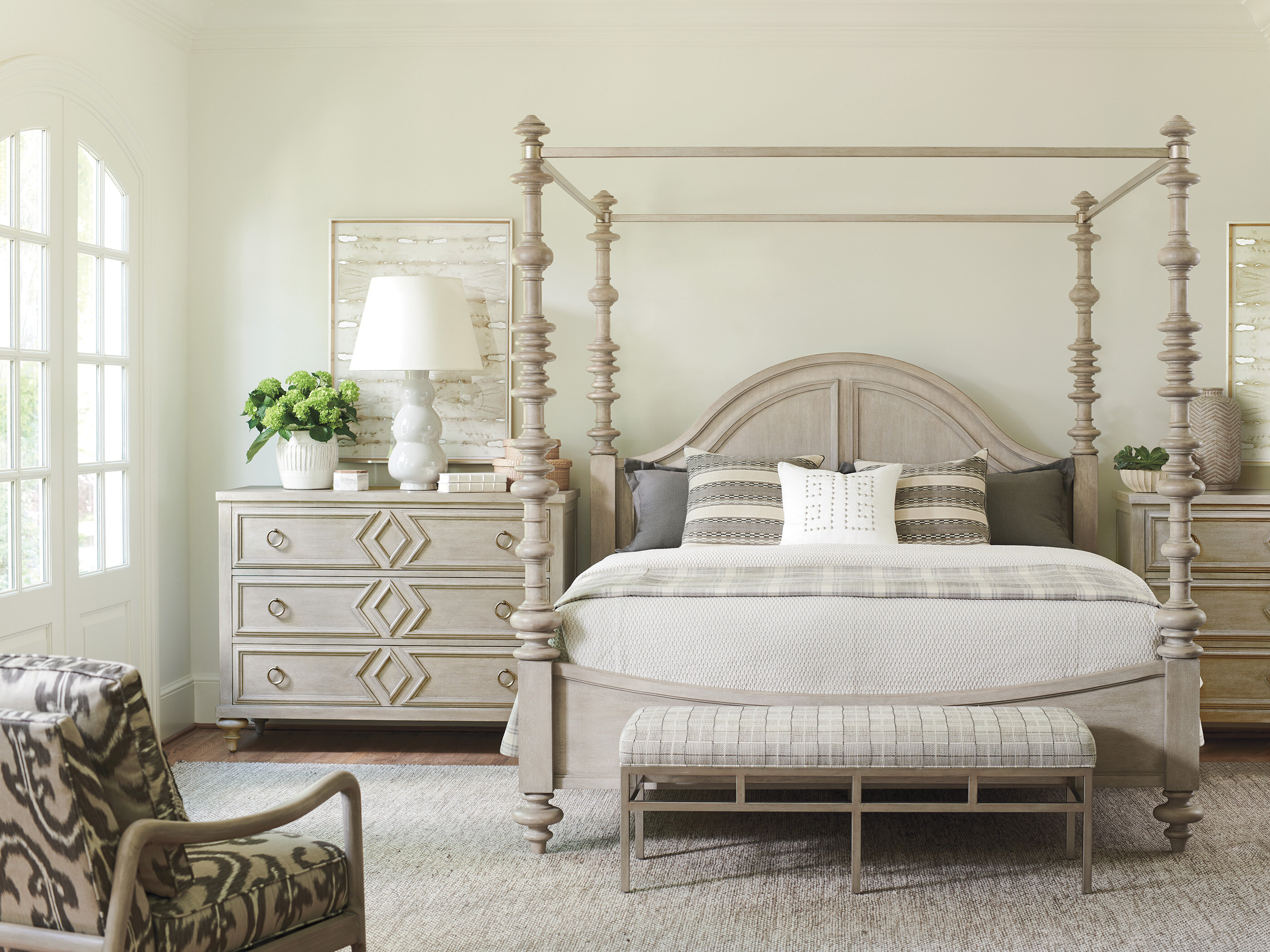Barclay Butera Malibu Canopy Configurable Bedroom Set Wayfair